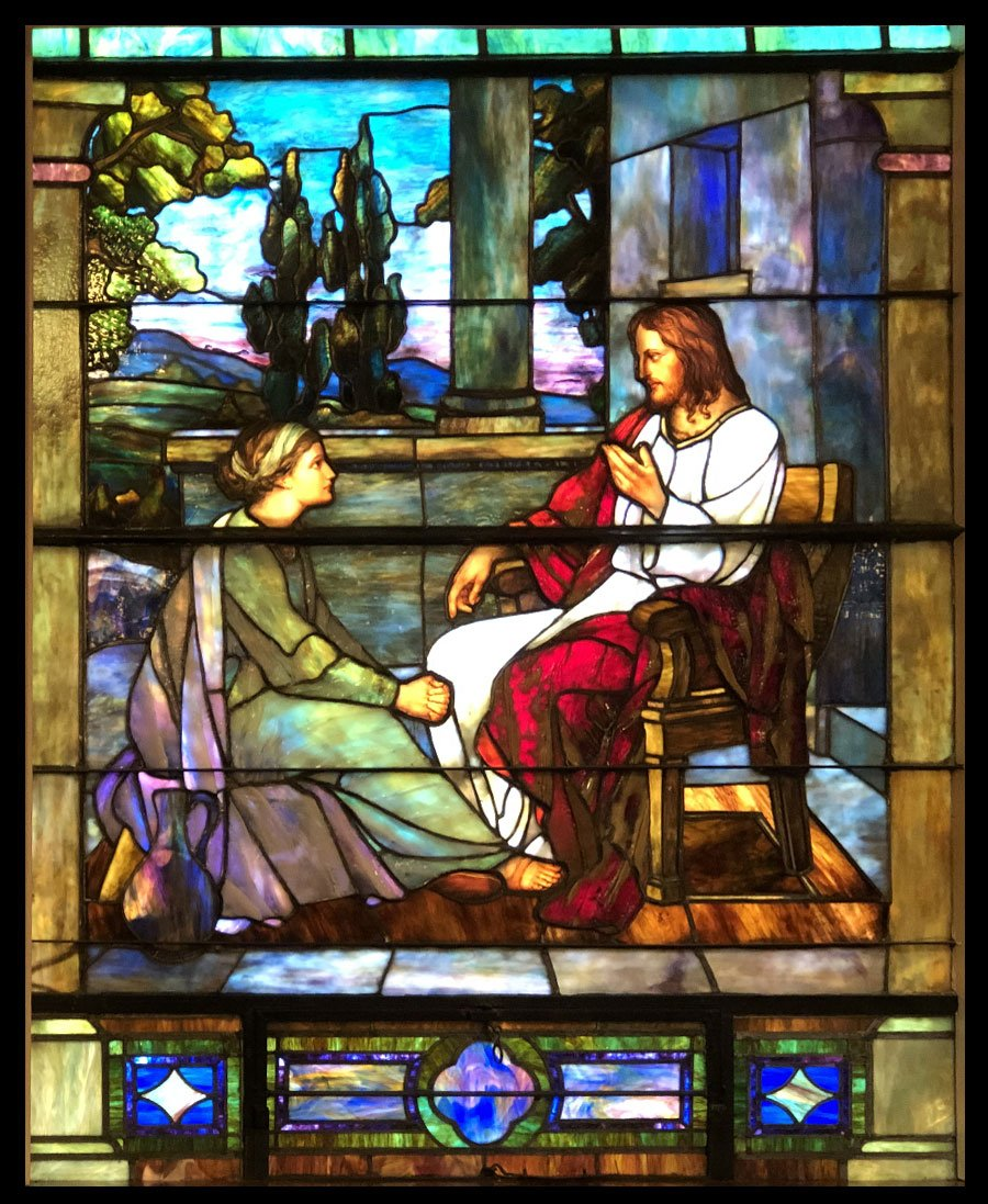 Calvary Moravian Stained Glass